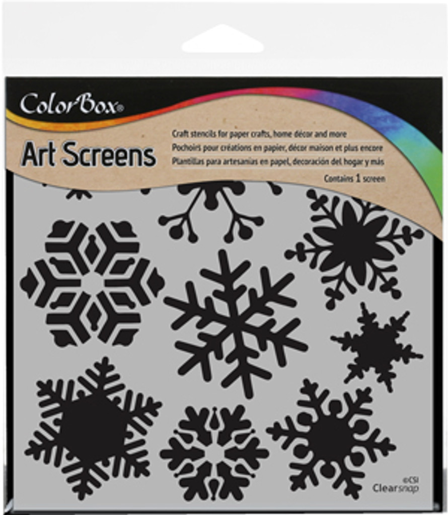 ColorBox Stencil Art Screens Blizzard