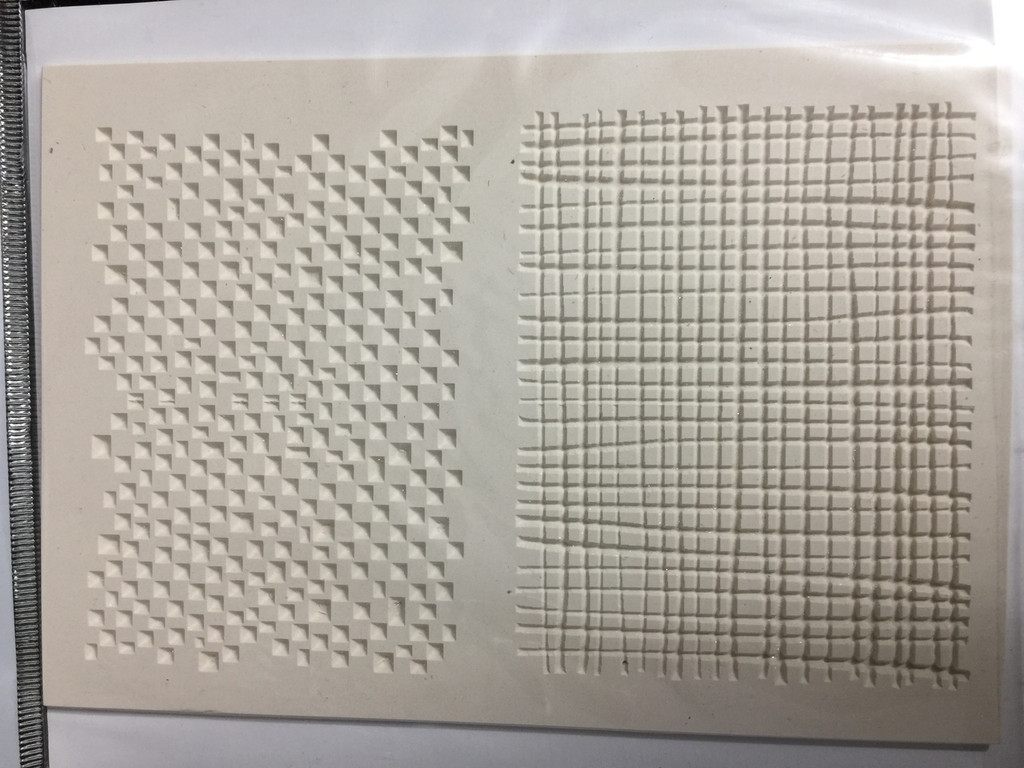 Texture Stamp Grid Patterns from Carabelle Studio