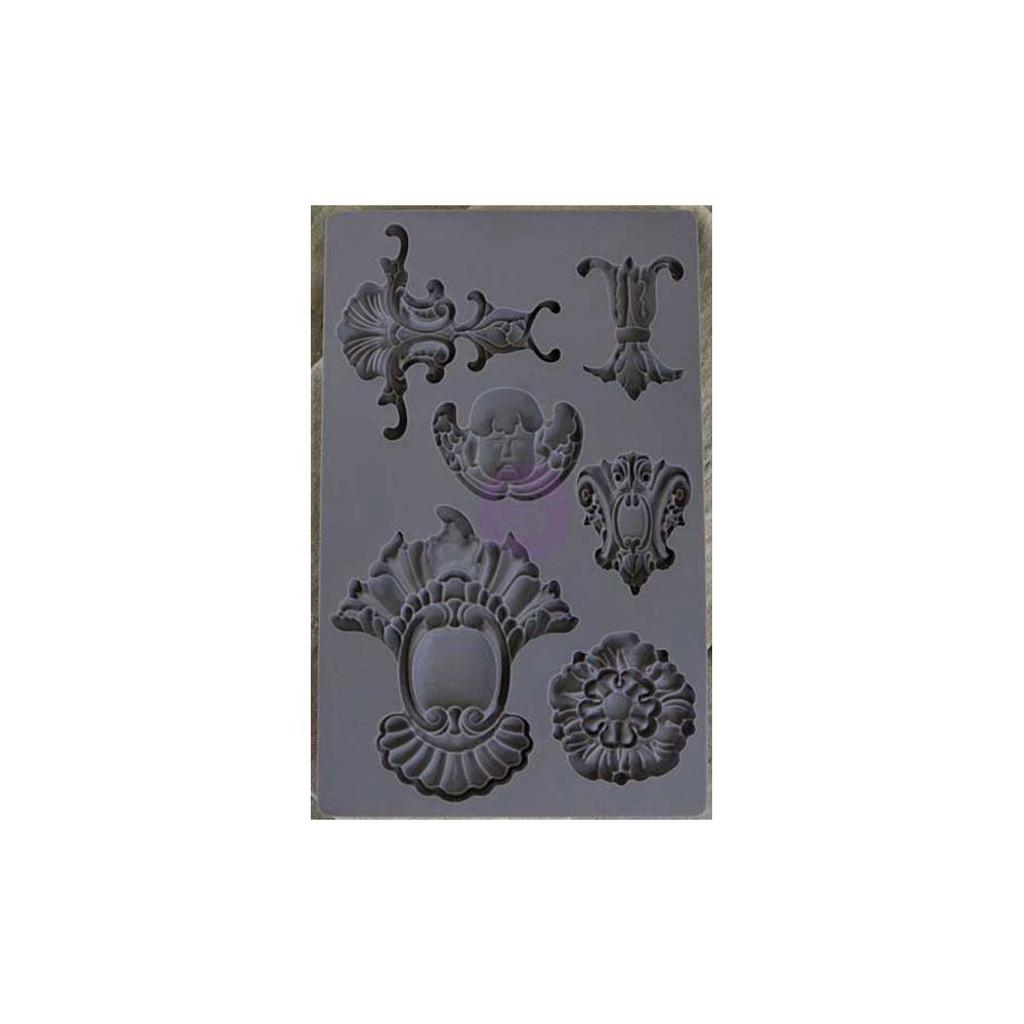 Iron Orchid Designs Vintage Art Decor Mould Baroque #2