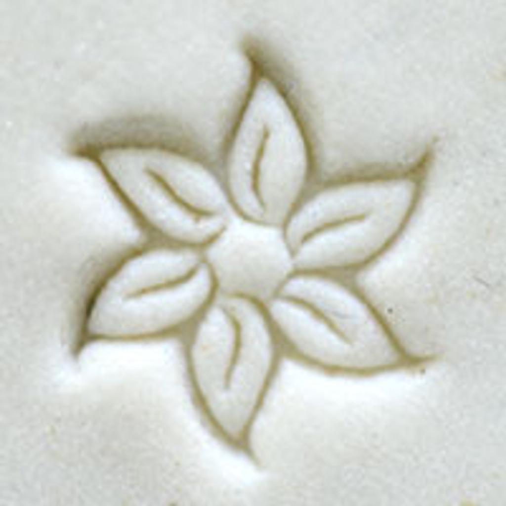 Kor Tools Star Flower Poinsettia Stamp