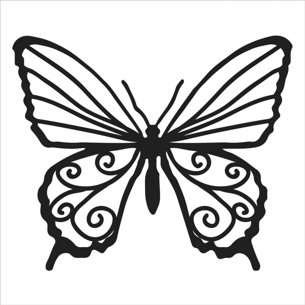 Free printable butterflies templates