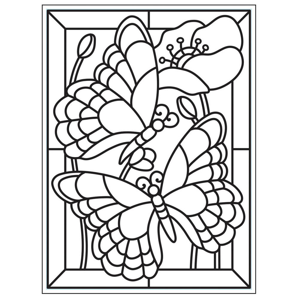 """Background Embossing Folder 4.25""""X5.75"""" - Mosaic Butterfly"""