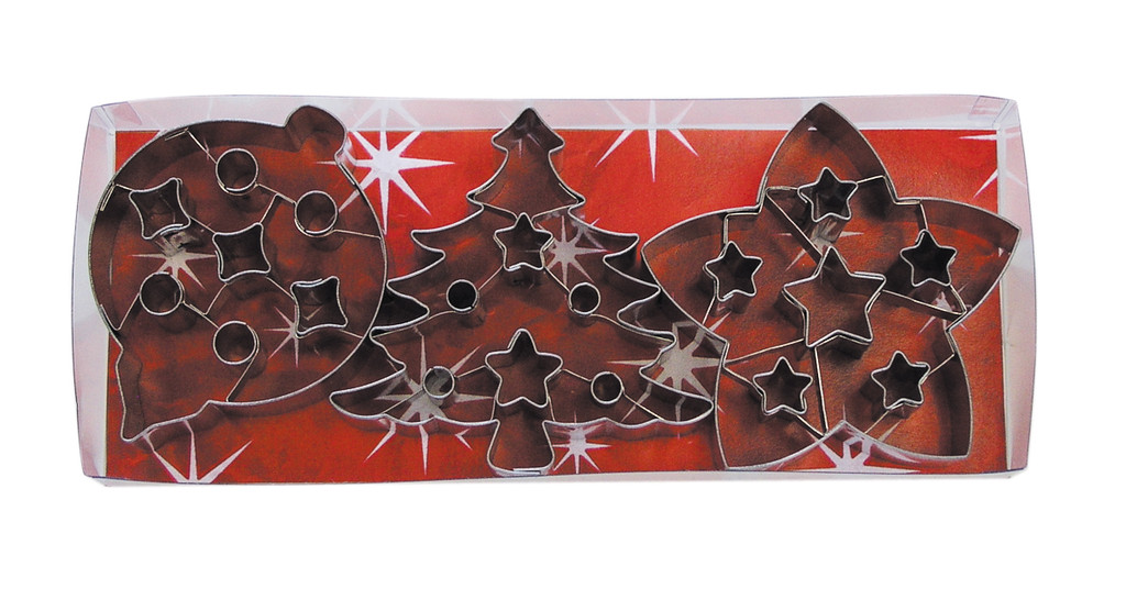 Christmas Cutters with Cut Outs