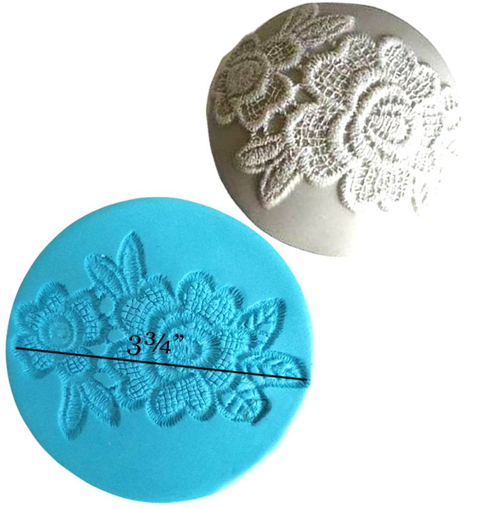 Applique Lace Flower Mold