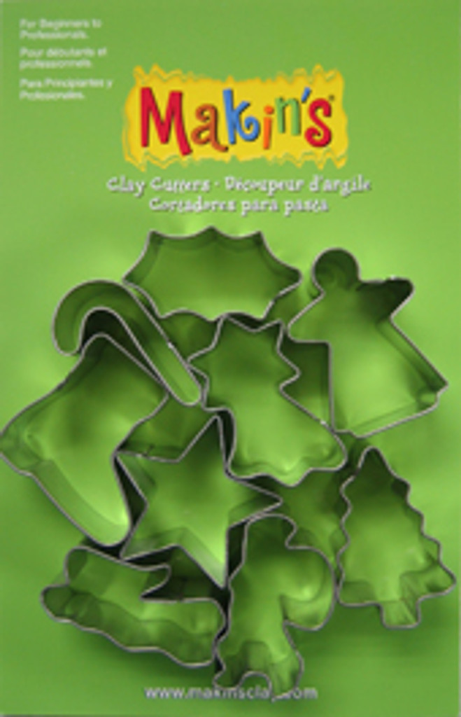 Christmas Cutter Set A Makin's 9 Piece