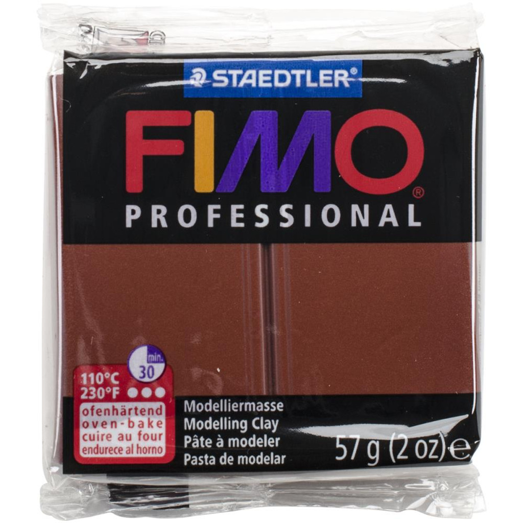 Fimo Professional Polymer Clay - Chocolate