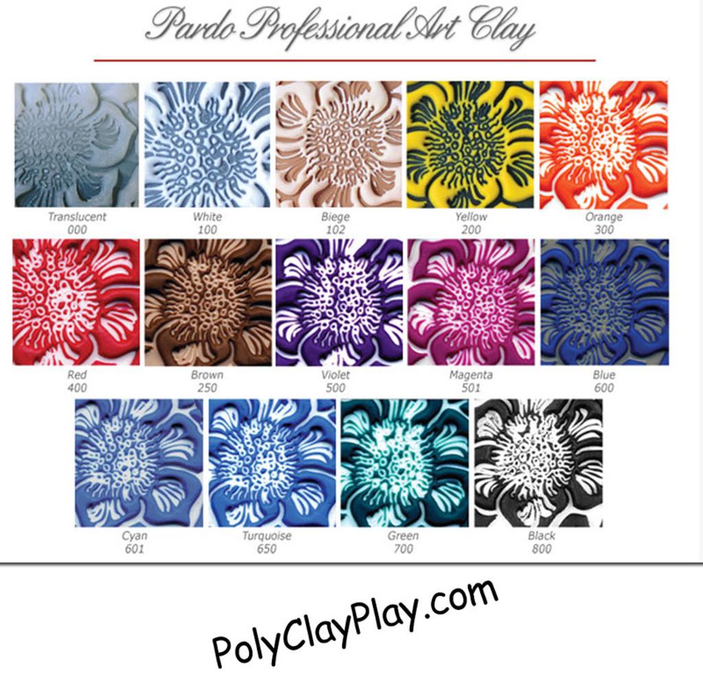 Pardo Professional Art Clay - Violet