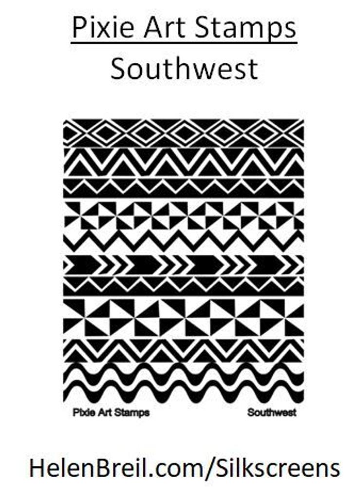 Mike Breil Silk Screen - Southwest - Limited
