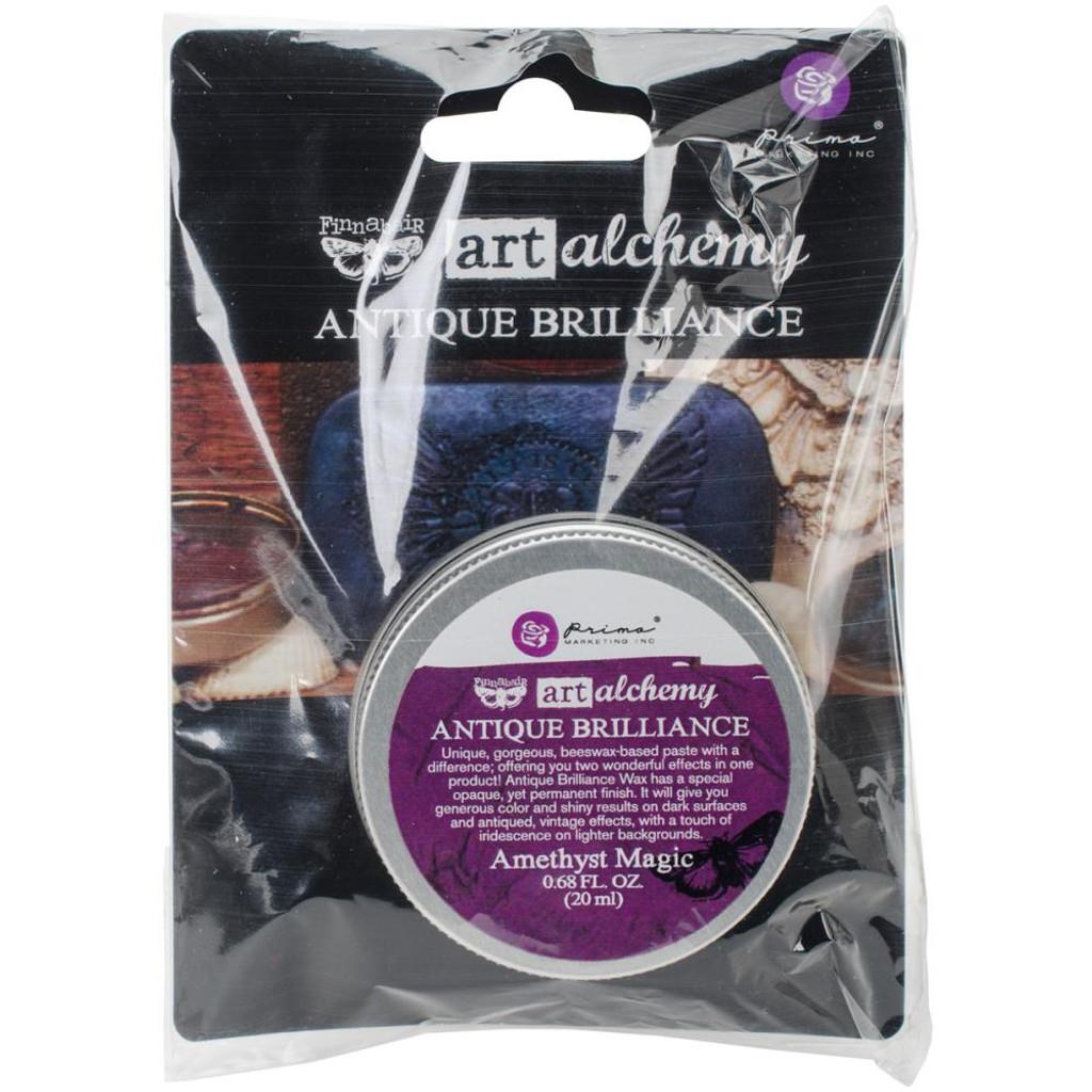 Antique Brilliance Wax .68 Fluid Ounce - Amethyst Magic