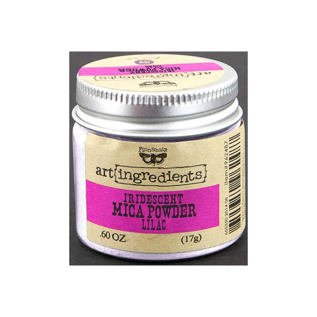 Finnabair Art Ingredients Mica Powder  Lilac Opal Magic