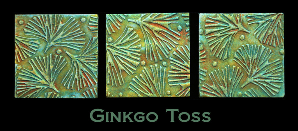 Helen Breil Stamps - Gingko Toss