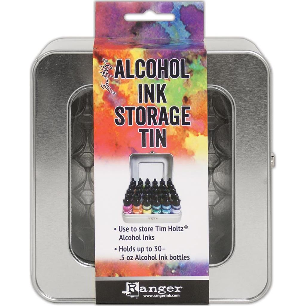 Alcohol Ink Storage Tin by Tim Holtz