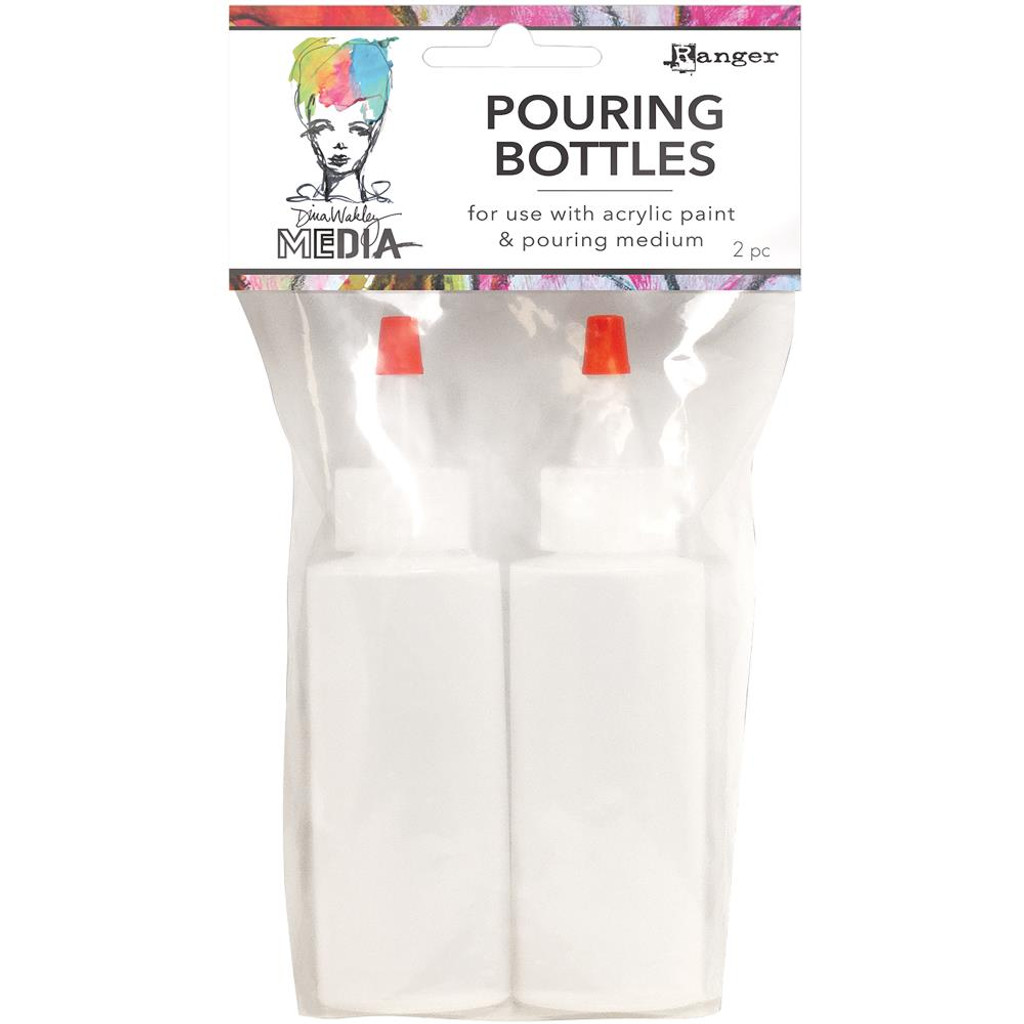 Dina Wakley Media Pouring Bottles Set 2/Pkg