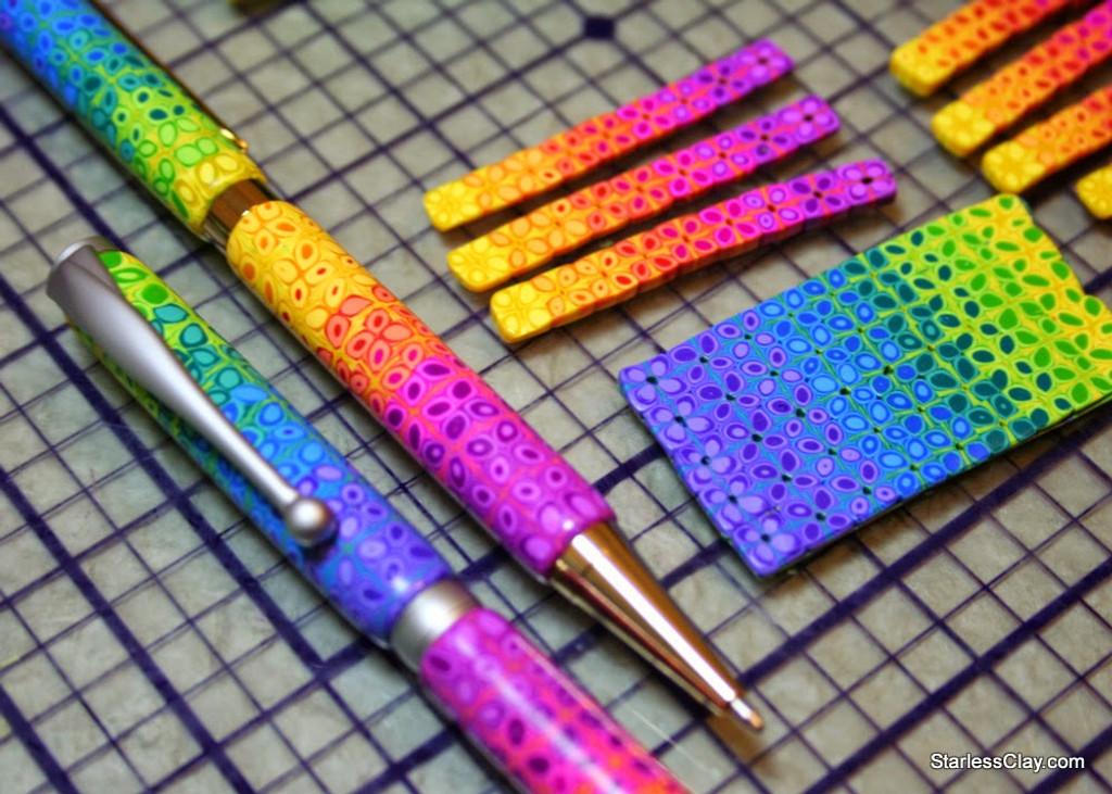 Rainbow Daisy Pen Tutorial