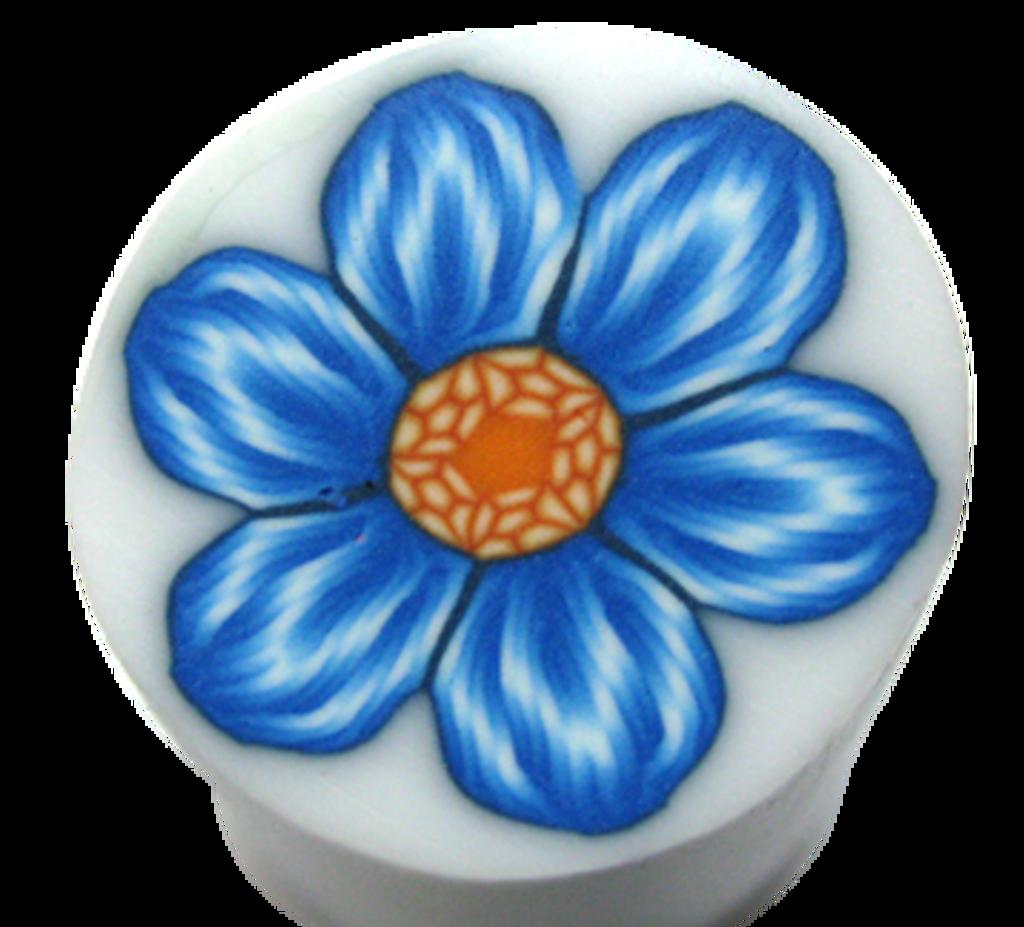 Yonat's Blue Flower Cane Tutorial