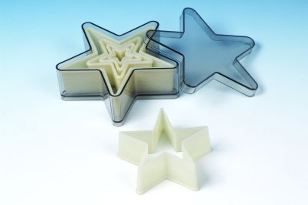 5 Point Star 5 Piece Set