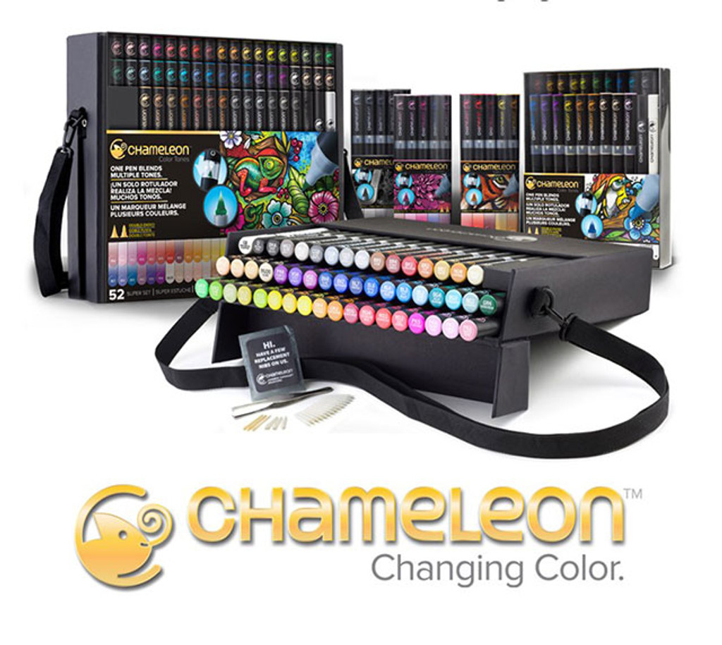 Chameleon Color Tones Alcohol Pens and Parts