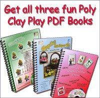 All 3 Poly Clay Play PDF Books by Trish Hodgens