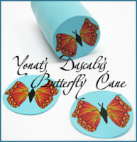 Yonat's Butterfly Cane and Magnet Tutorial