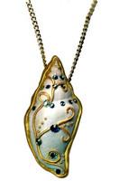 Penni Jo Originals Bejeweled Shell Pendant Tutorial