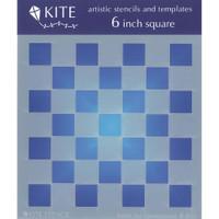 Checkerboard 6 x 6 Stencil