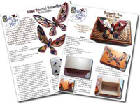 Inked Butterfly and Box Tutorials
