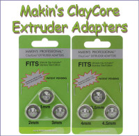 Makin's® ClayCore™ Adapters
