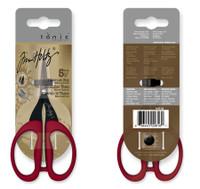 """Kushgrip Non-Stick Mirco Serrated Mini Scissors 5"""""""