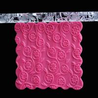 Acrylic Rolling Pin Chrysanthemums