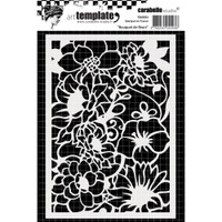 Stencil Flowers Bouquet from Carabelle Studio