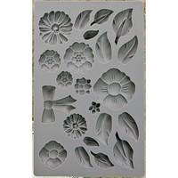 Iron Orchid Designs Vintage Art Decor Mould Rustic Fleur