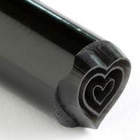 Kor Tools Triple Heart Stamp