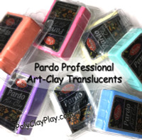 Pardo Translucent Art Clay Aqua