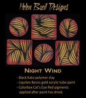 Helen Breil Silk Screens - Night Wind