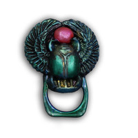 Egyptian Scarab Badge or Glasses Holder Free Tutorial