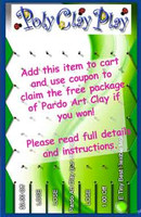 Free Pardo Art Clay Offer with game coupon