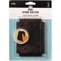 Squeegee / Comb FolkArt Home Decor