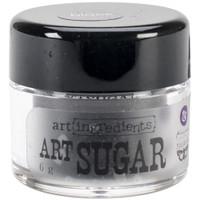Finnabair Art Ingredients Art Sugar Ultra Fine Glitter .21oz - Black
