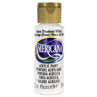 Americana Acrylic Paint 2oz - Snow White