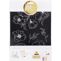 Minc Floral Art Screen