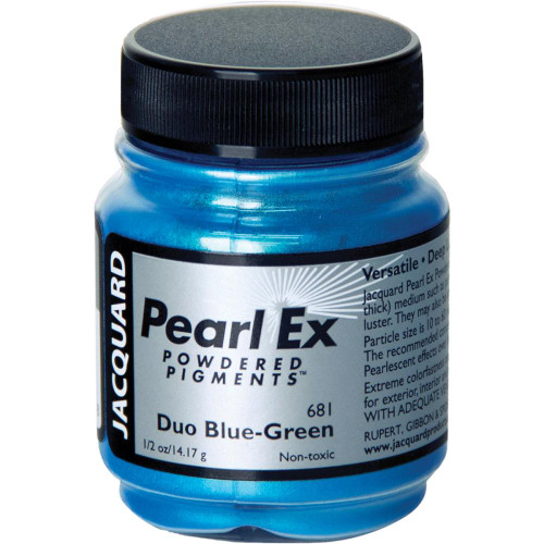 Jacquard Pearl Ex Powdered Pigment 14g - Duo Blue-Green