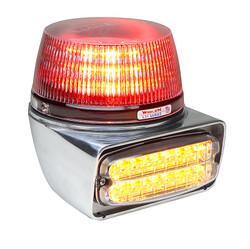 Whelen B63 Series Tailboard Combination Beacon/Lighthead Fixture