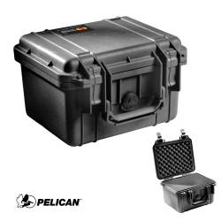 Pelican 1300 Small Protector Case, Watertight, Crushproof, and Dustproof