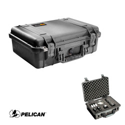 Pelican 1500 Medium Case - Waterproof, Crushproof, Dustproof with Foam Insert