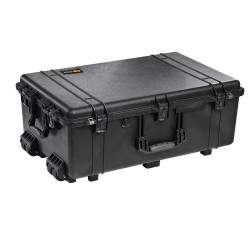 Pelican 1650 Protector - Large Transport Case - 4 Strong Polyurethane Wheels with Stainless Steel Bearings