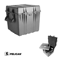 Pelican 0370 Protector  Cube Case, Watertight, Crushproof, and Dustproof
