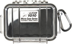 Pelican 1010 Micro Case with Carabiner - Waterproof, Crushproof, and Dustproof