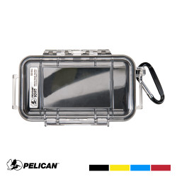 Pelican 1015 Micro Case with Carabiner - Waterproof, Crushproof, and Dustproof