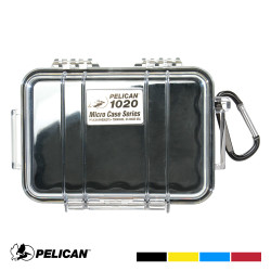 Pelican 1020 Micro Case with Carabiner - Waterproof, Crushproof, and Dustproof