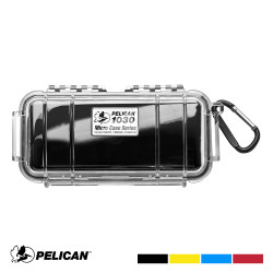 Pelican 1030 Micro Case with Carabiner - Waterproof, Crushproof, and Dustproof
